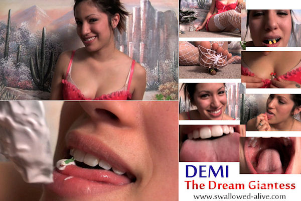 Demi the Dream Giantess